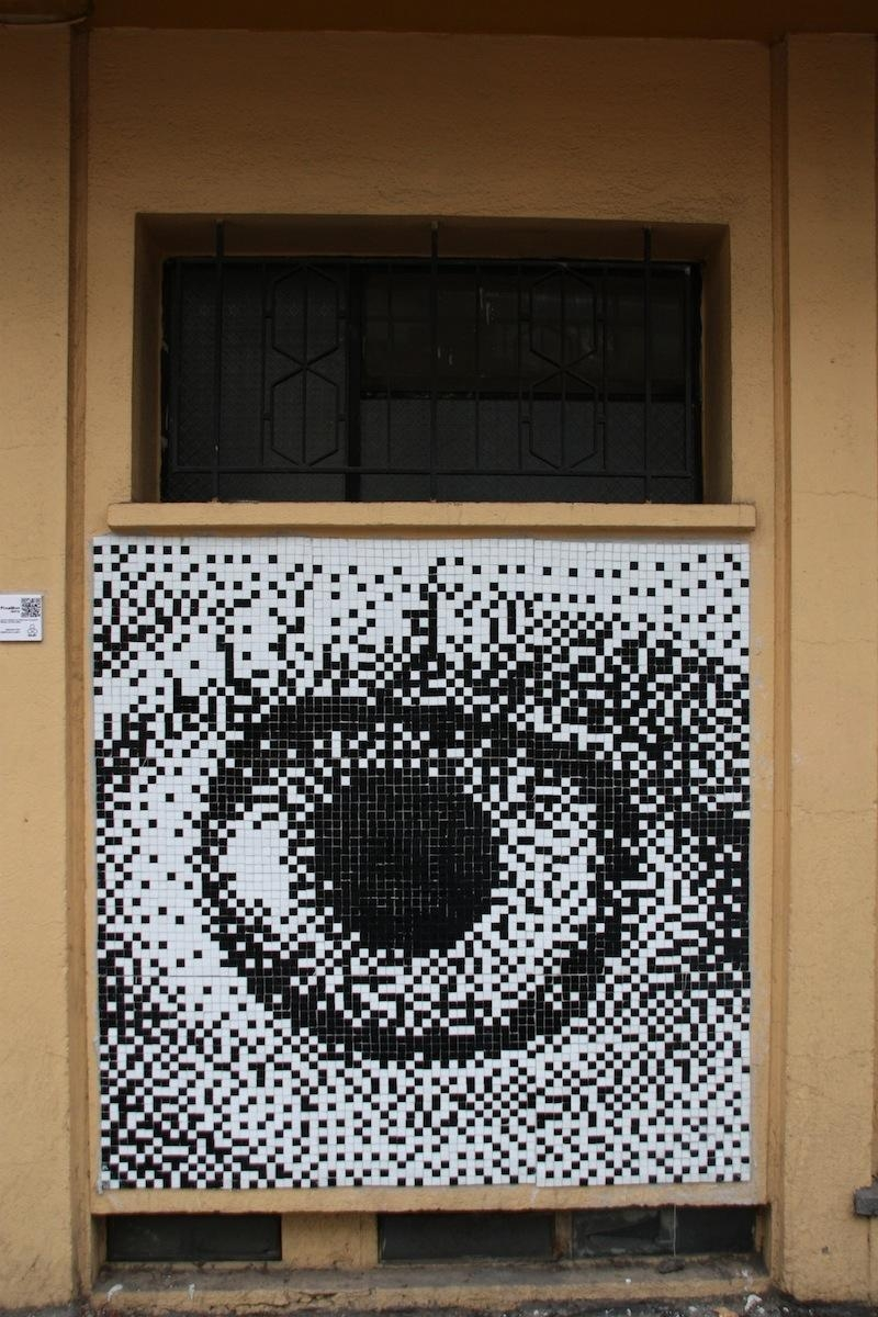 Taking It To The Streets: Pixel In Santiago | Mosaic Art Now With Pixel Mosaic Wall Art (Image 16 of 20)
