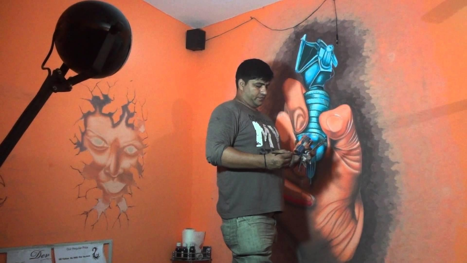 Tattoo Shop Wall Artdev 9313666999 – Youtube Throughout Tattoos Wall Art (Image 11 of 20)