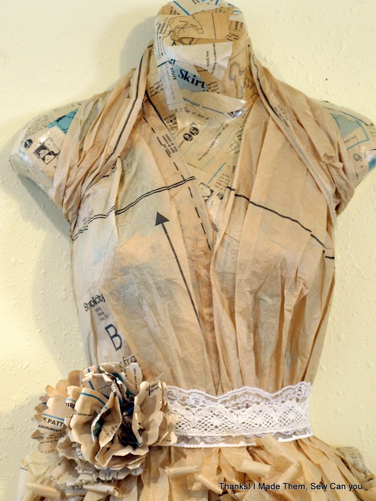 Thanks! I Made Them!: Sewing Pattern Mannequin Wall Art Throughout Mannequin Wall Art (View 5 of 20)