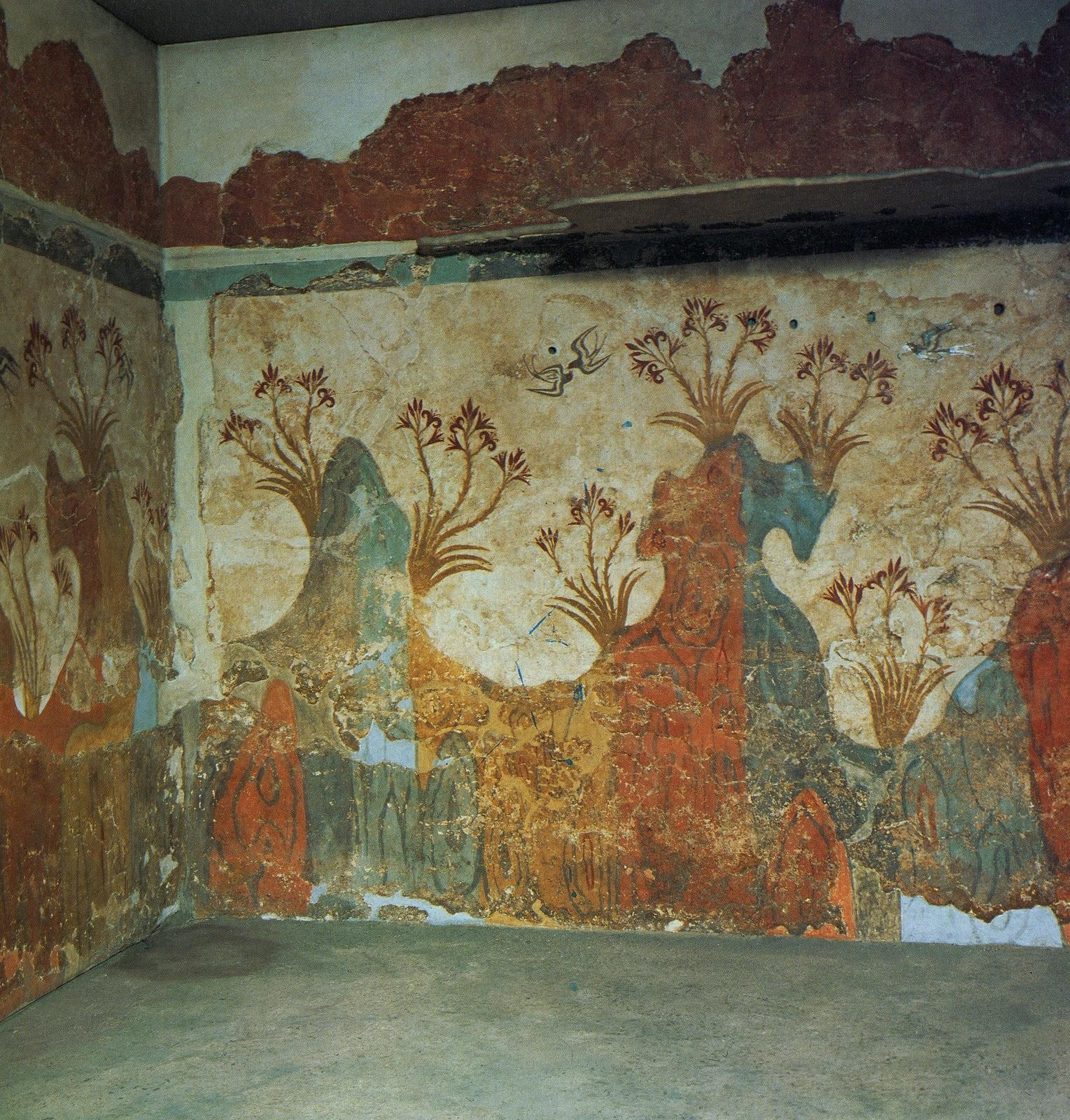 That Artist Woman: How To Make Plaster Frescoes With Ancient Greek Wall Art (Image 14 of 20)