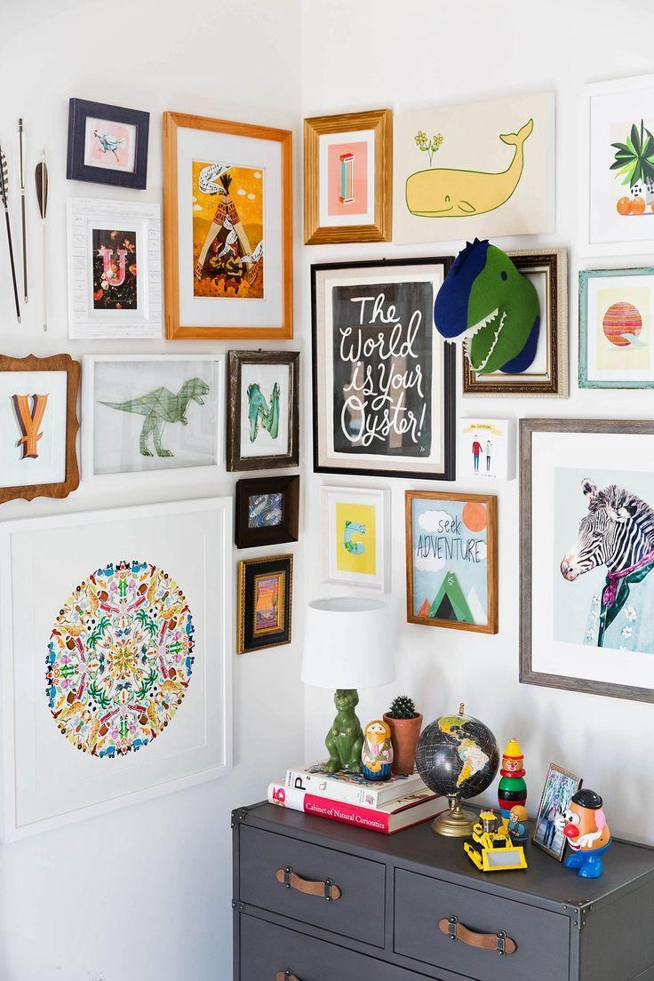 The 25+ Best Childrens Wall Art Ideas On Pinterest | Childrens With Regard To Dinosaur Wall Art For Kids (Image 16 of 20)
