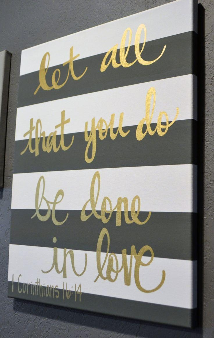 The 25+ Best Vinyl Canvas Ideas Ideas On Pinterest | Christmas In Diy Canvas Wall Art Quotes (Image 16 of 20)