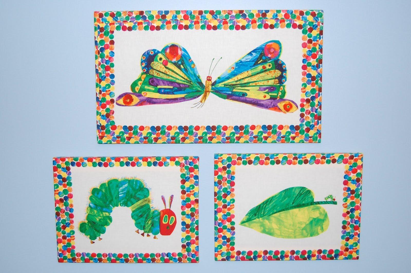 The Green Caterpillar: Very Hungry Caterpillar Room Part 1 – Wall Art In Very Hungry Caterpillar Wall Art (Image 15 of 20)