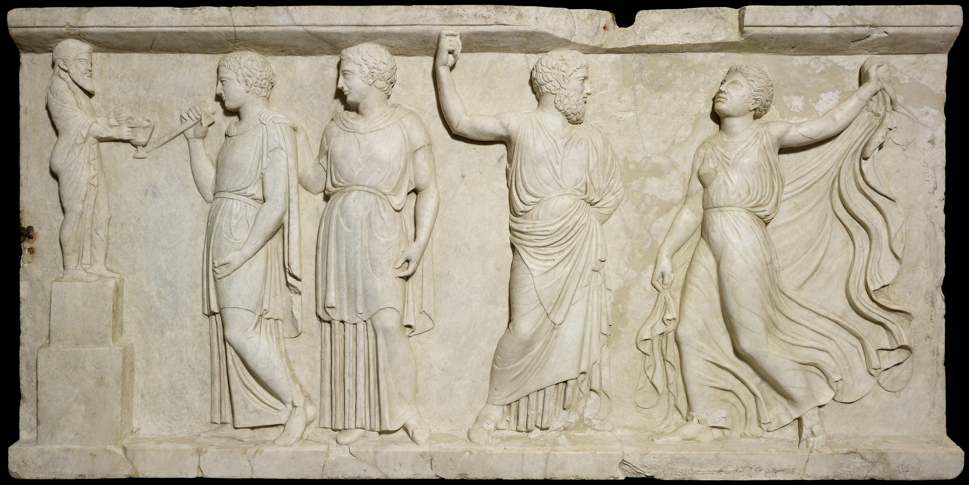 The History Blog » Blog Archive » Herculaneum Reliefs Together Throughout Greek Wall Art (Image 15 of 20)