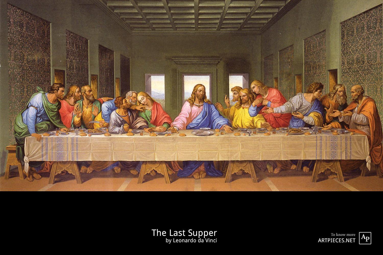 The Last Supper | Leonardo Da Vinci With Regard To The Last Supper Wall Art (Image 18 of 20)