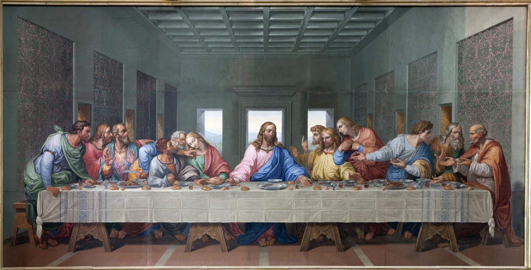 Featured Image of The Last Supper Wall Art