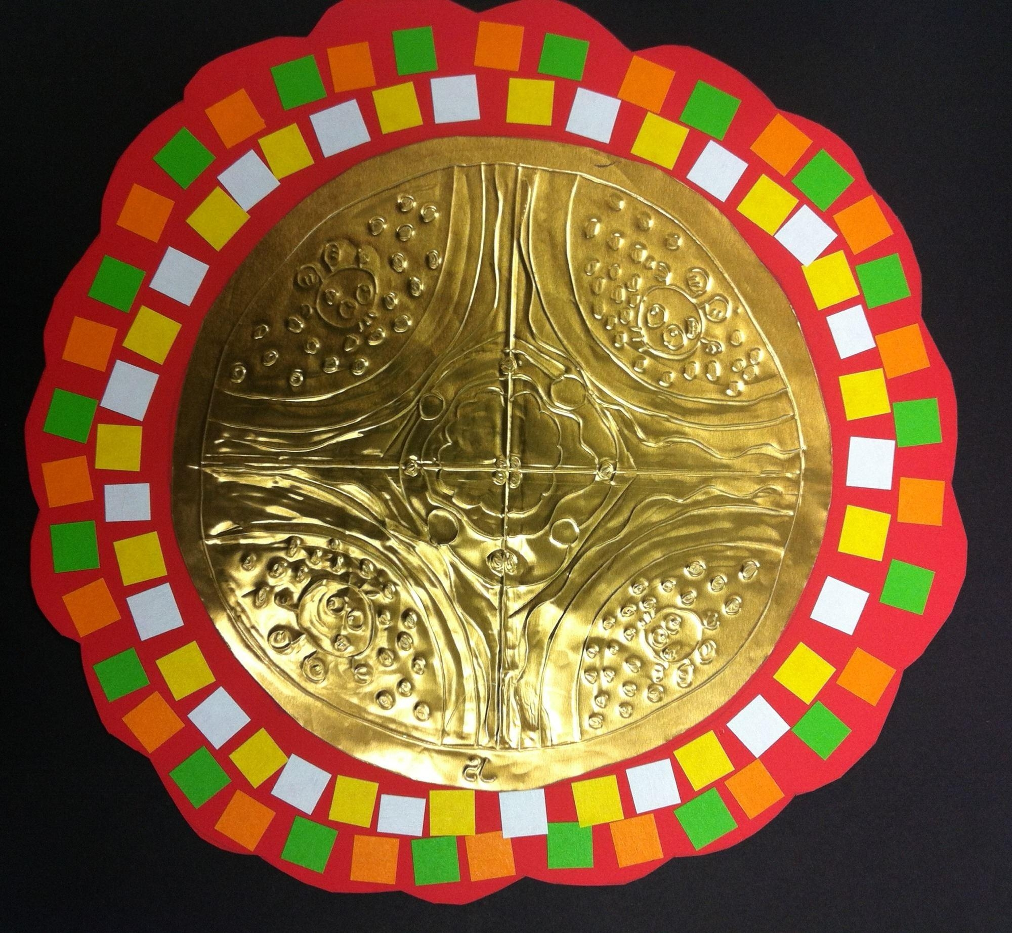 The Smartteacher Resource: Mexican Folk Art Mirrors Inside Mexican Metal Art (Image 18 of 20)