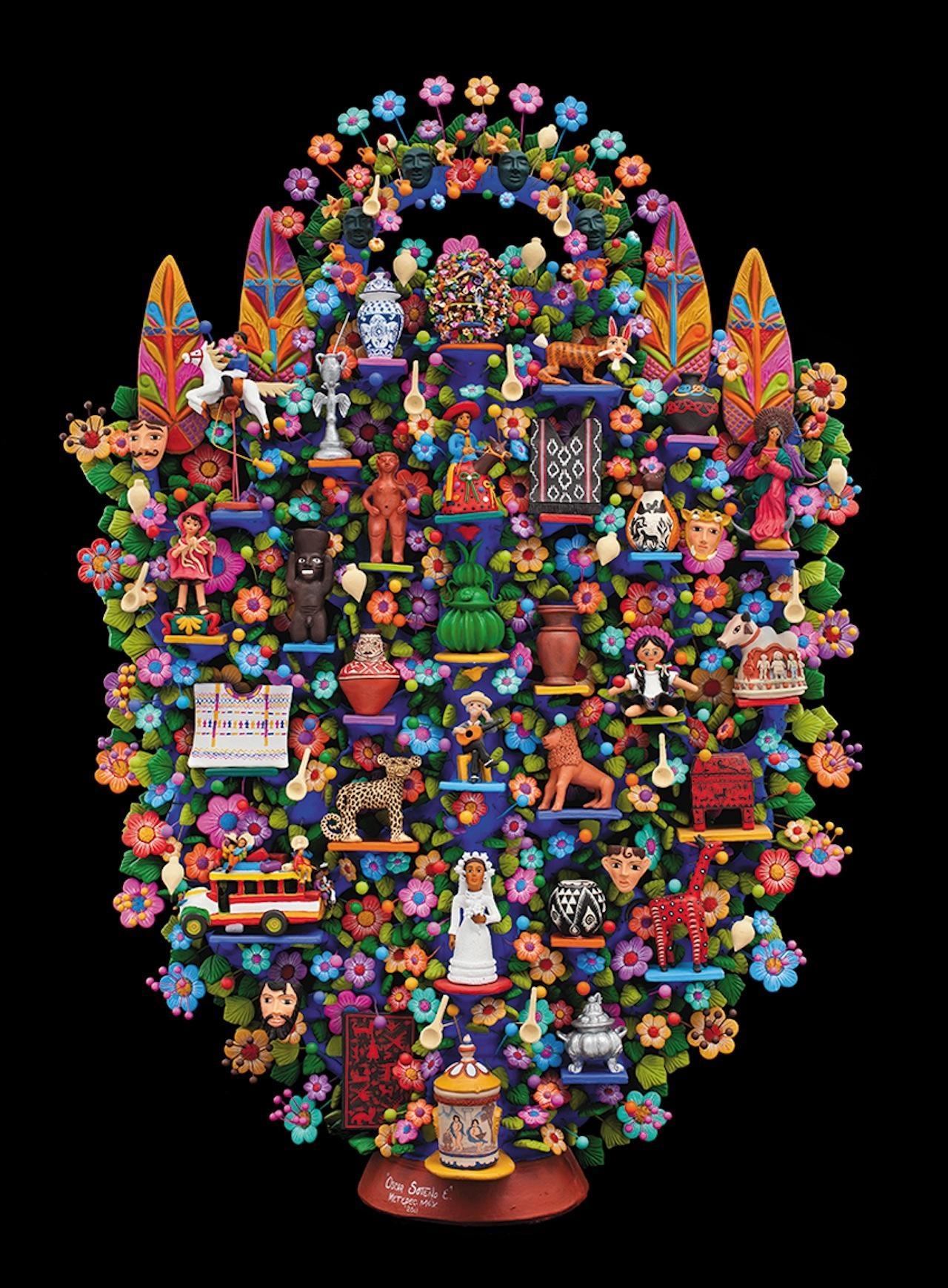 The State Of Iberoamerican Folk Art Inside Mexican Metal Art (Image 19 of 20)