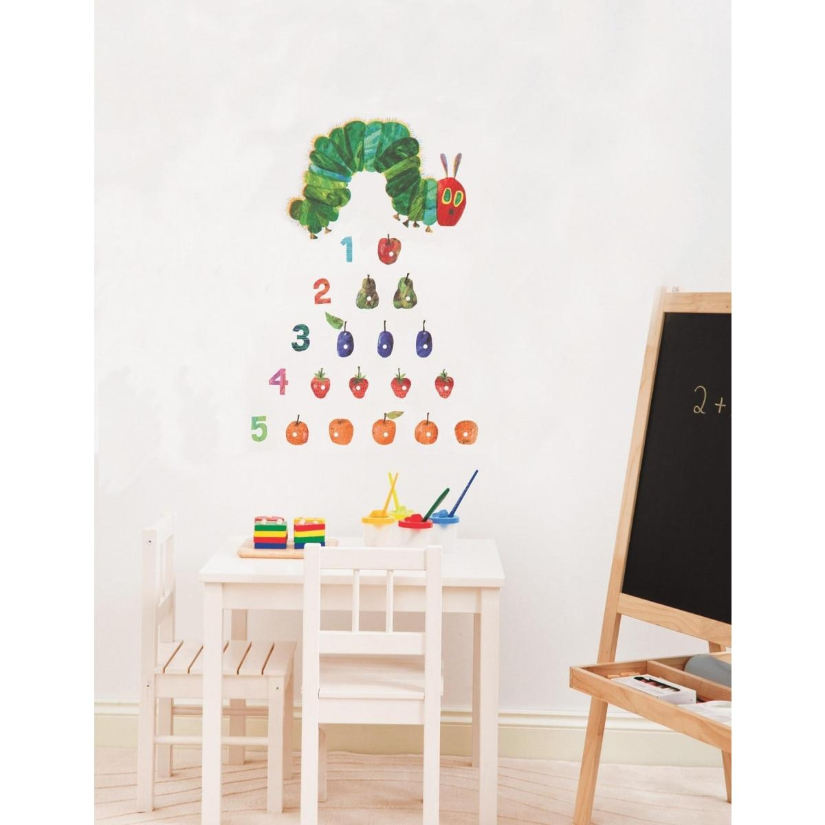 The Very Hungry Caterpillar 21 Wall Stickers Inside Very Hungry Caterpillar Wall Art (Image 17 of 20)