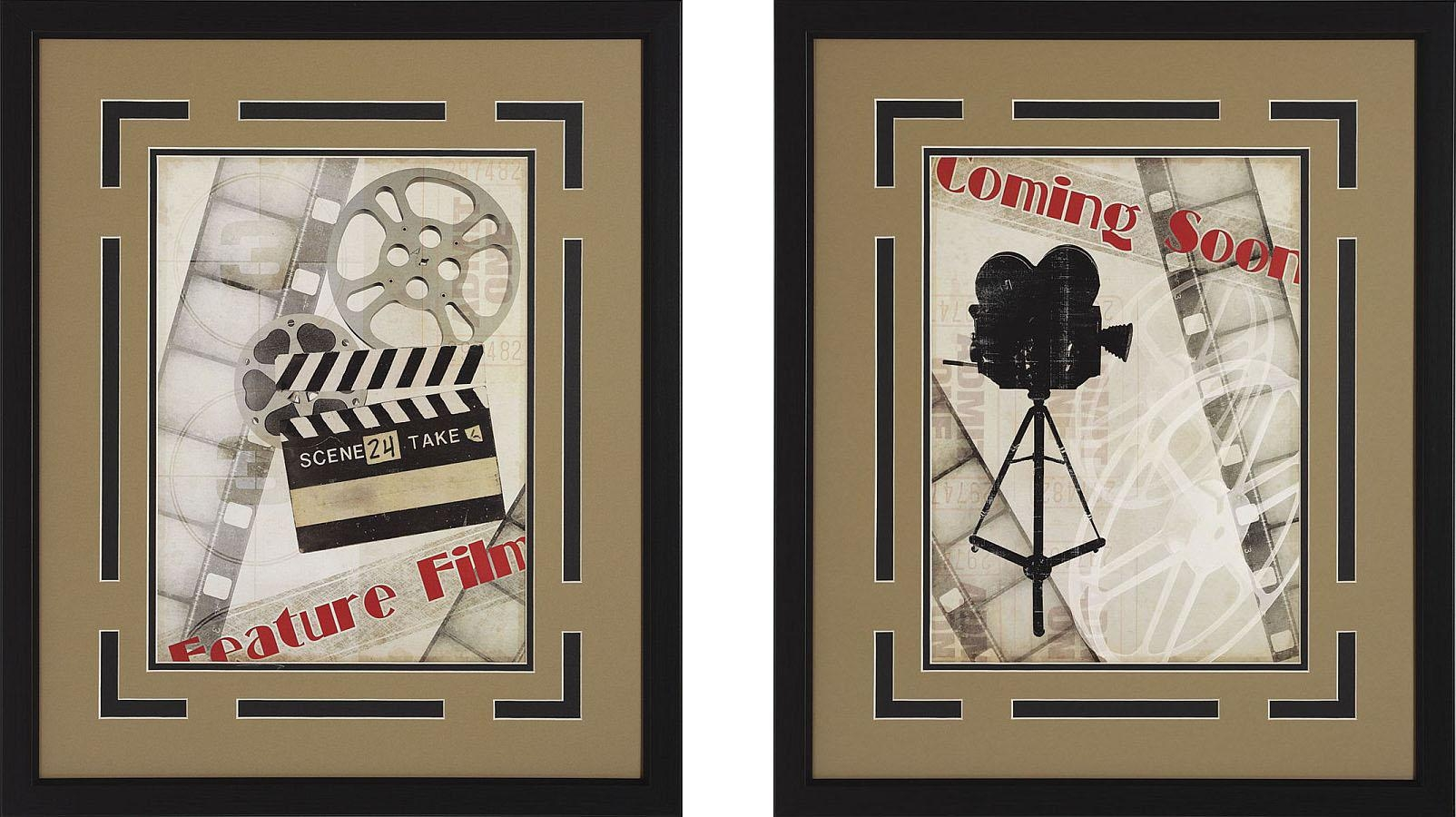 Theater Signs & Wall Art - Stargate Cinema in Home Theater Wall Art
