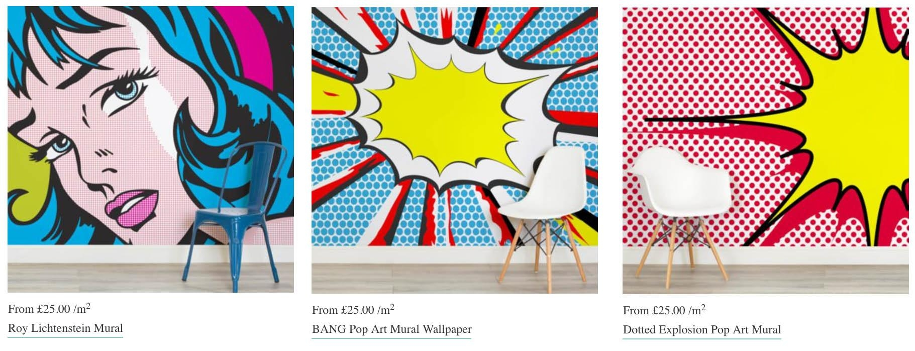 This Is Some Pretty Cool Retro Wallpaper | Retromash Throughout Pop Art Wallpaper For Walls (Image 16 of 20)