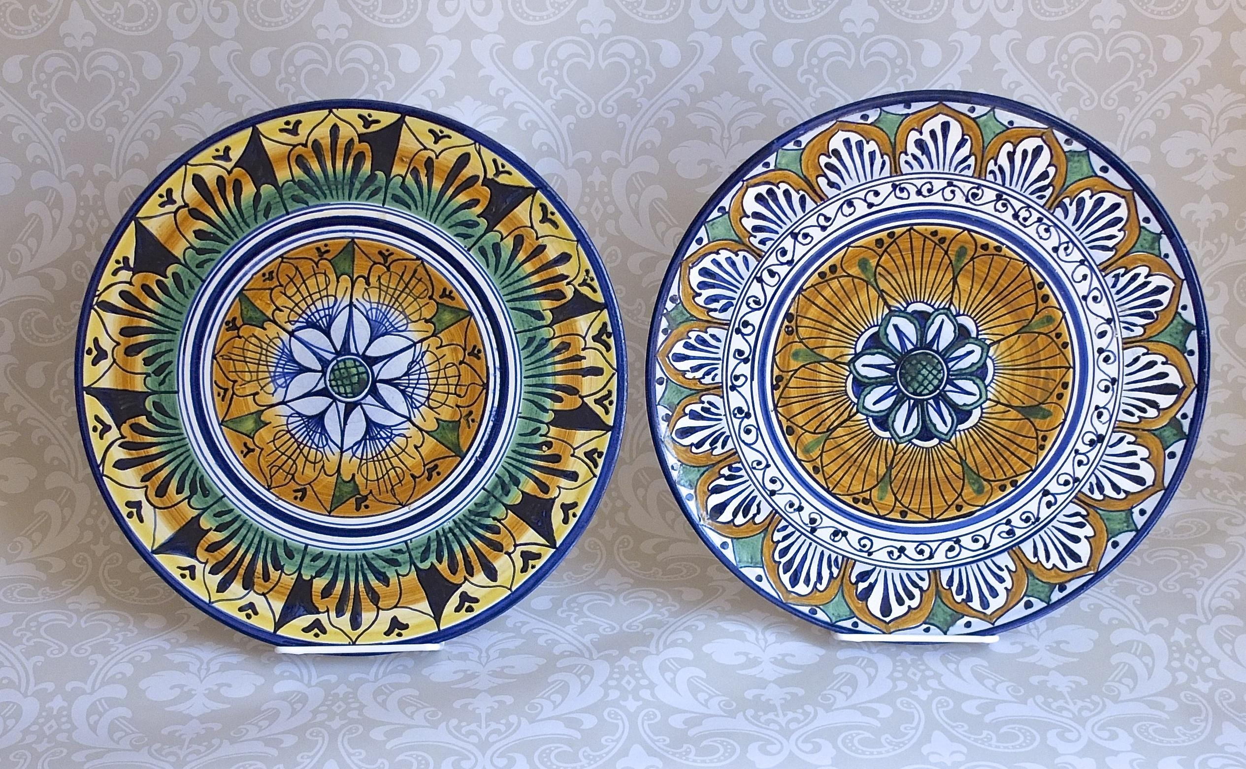 Timeless Elegance Of Italian Ceramic Dinnerware ~ Home Decorations Regarding Italian Ceramic Wall Art (Image 16 of 20)