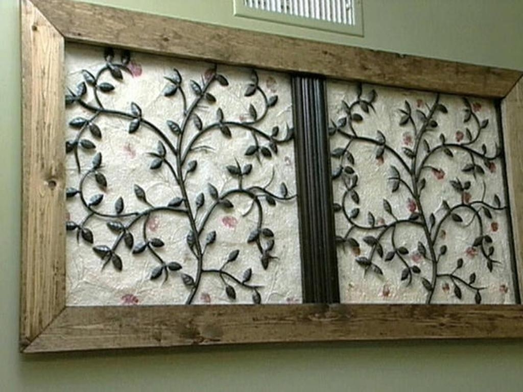 Tips & Ideas: Exciting Wrought Iron Wall Art For Interiors Intended For Faux Wrought Iron Wall Art (View 14 of 20)