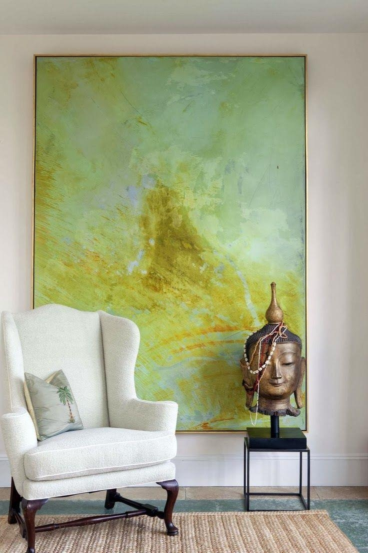 Top 25+ Best Big Wall Art Ideas On Pinterest | Hallway Art Throughout Large Green Wall Art (Image 16 of 20)