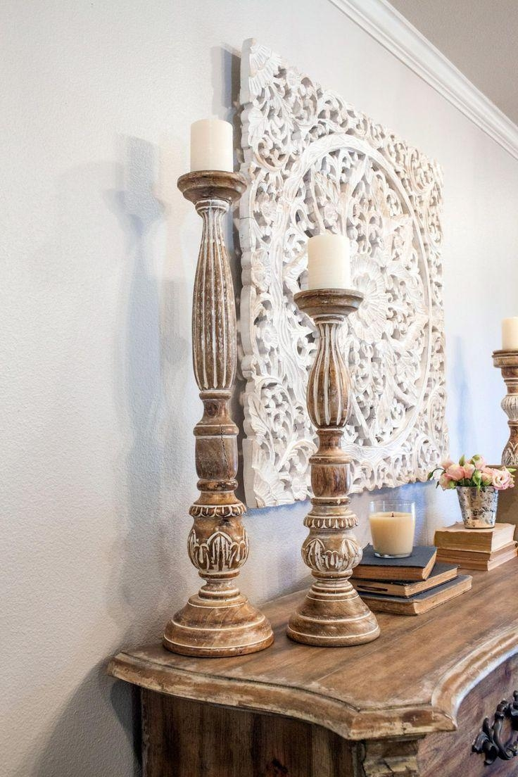 Top 25+ Best Carved Wood Wall Art Ideas On Pinterest | Thai Decor For Country French Wall Art (View 15 of 20)