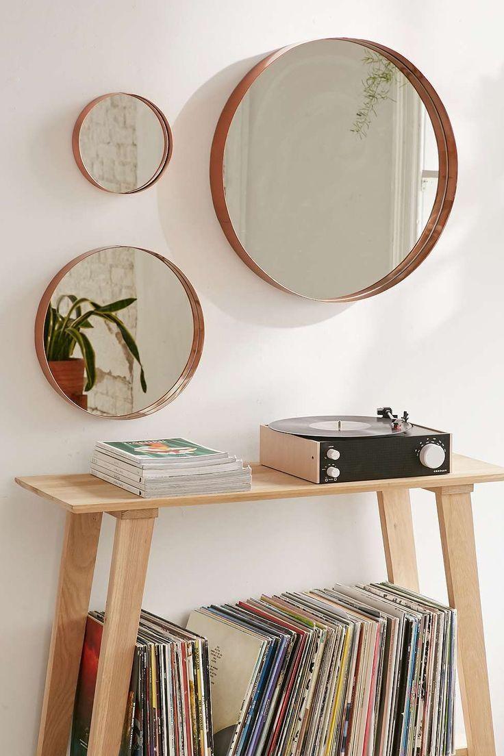 Top 25+ Best Circle Mirrors Ideas On Pinterest | Large Hallway Regarding Mirror Circles Wall Art (View 12 of 20)