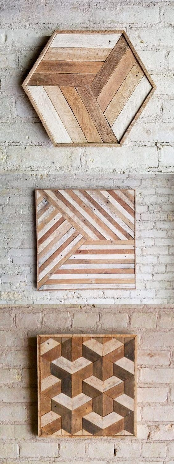 Top 25+ Best Creative Wall Decor Ideas On Pinterest | Wall Decor Inside Pinterest Wall Art Decor (Image 20 of 20)