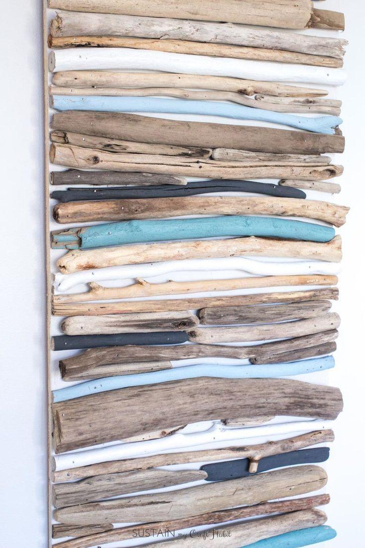 Top 25+ Best Driftwood Wall Art Ideas On Pinterest   Driftwood Intended For Large Driftwood Wall Art (View 4 of 20)