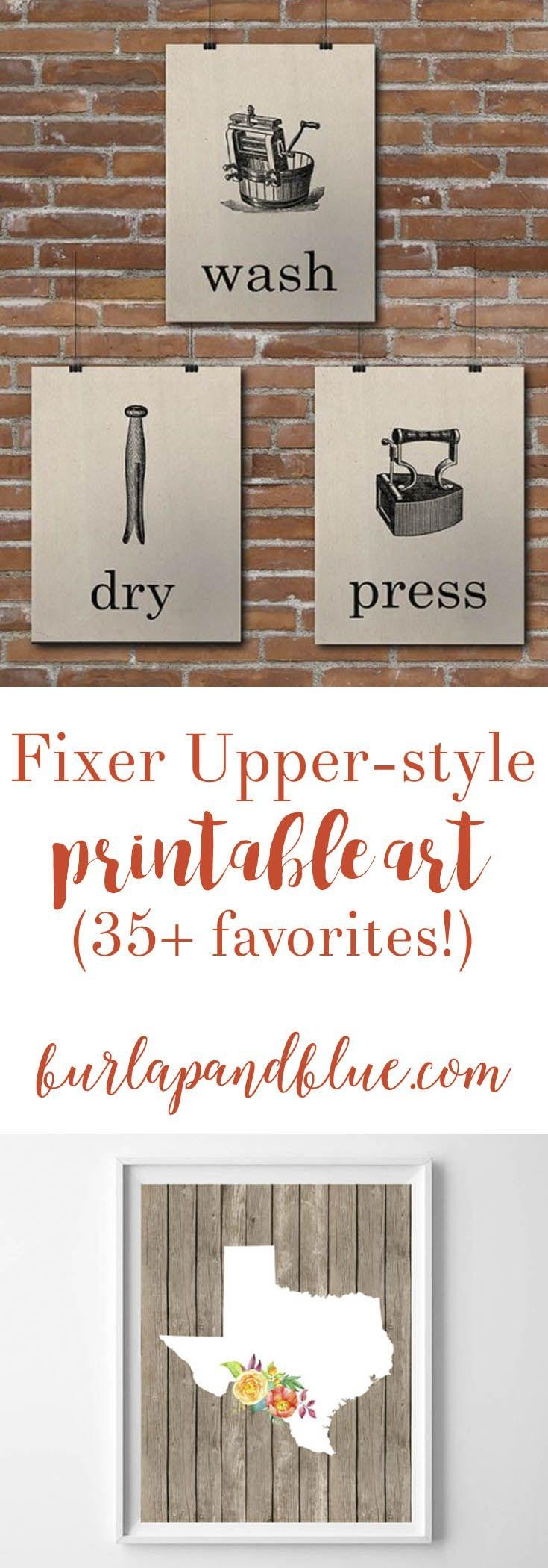 Top 25+ Best Free Printable Art Ideas On Pinterest | Free Art Throughout Farmhouse Wall Art (View 17 of 20)