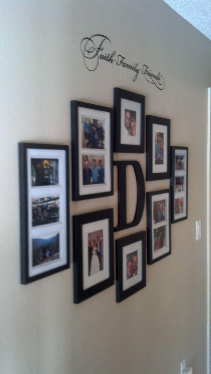 Top 25+ Best Wall Picture Collages Ideas On Pinterest | Picture Throughout Last Name Framed Wall Art (View 9 of 20)