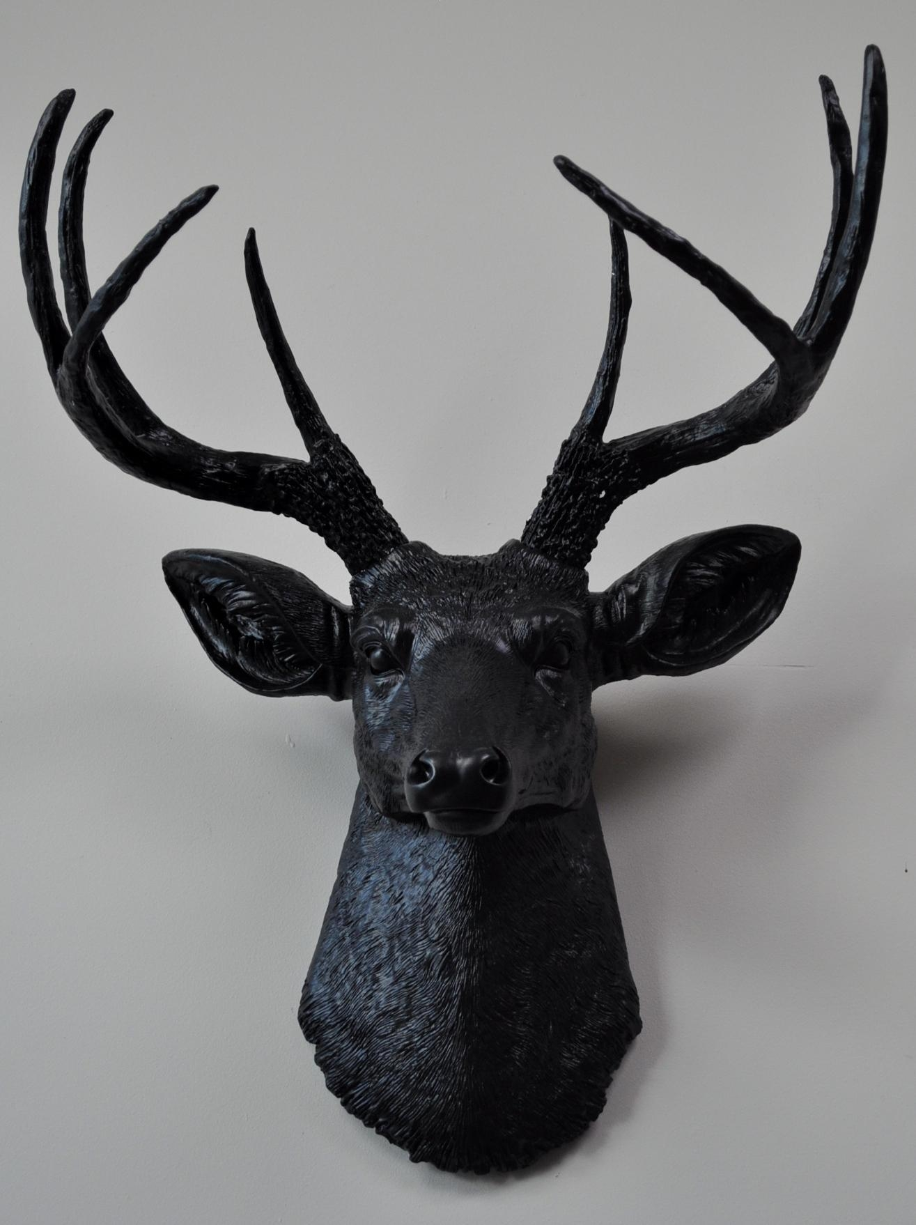 Top Deer Head Wall Art Uk On Deer Head Wall Decor 1944X1944 Pertaining To Stags Head Wall Art (Image 19 of 20)