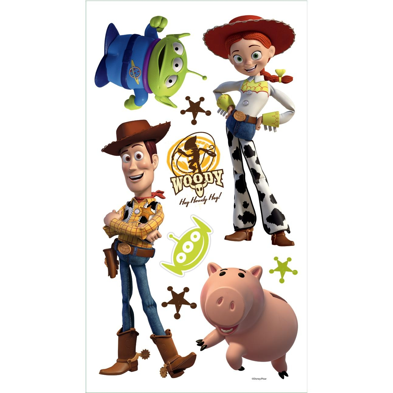 Toy Story 3 Removable Decals | Potty Training Concepts In Toy Story Wall Stickers (View 8 of 20)