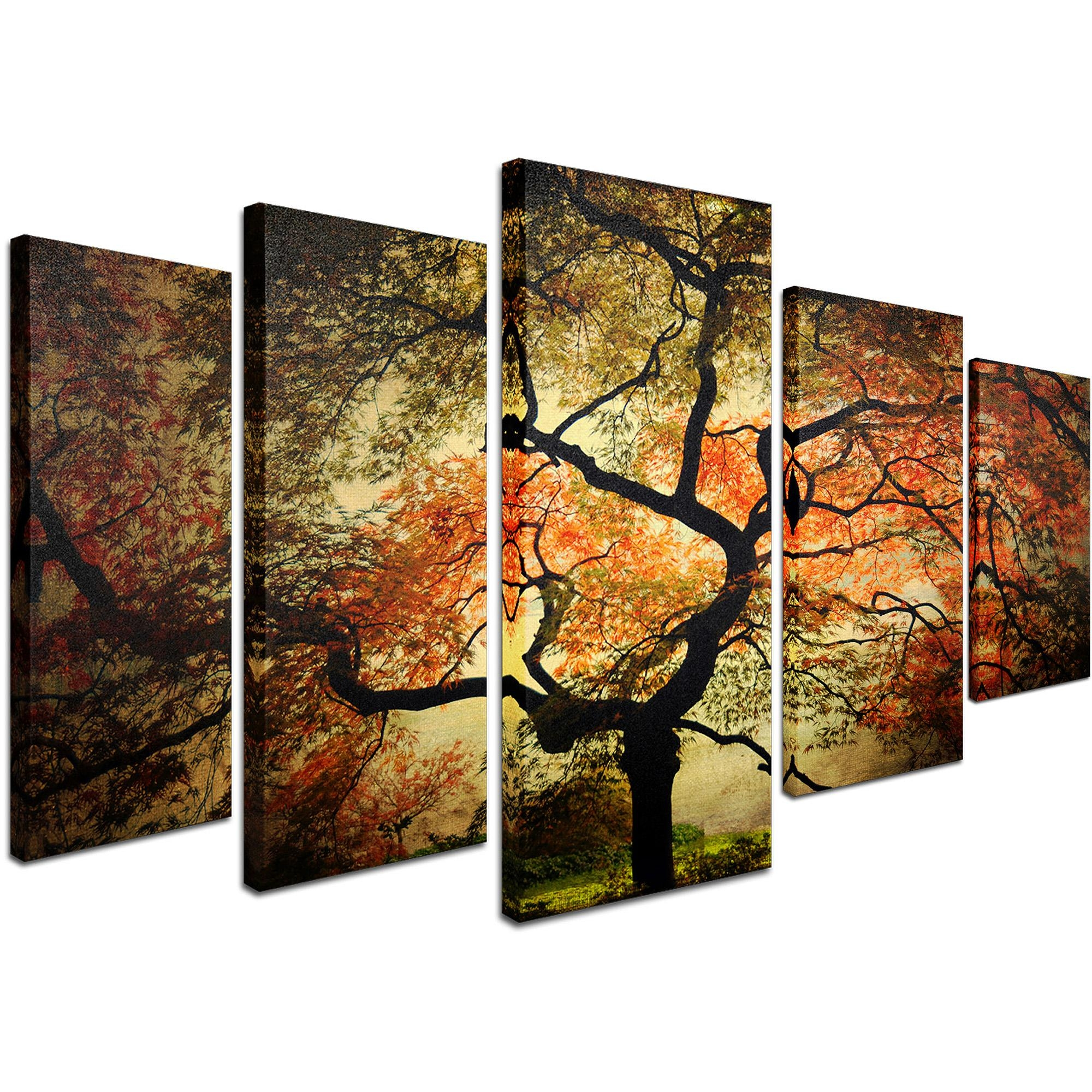 "Trademark Fine Art ""japanese"" Canvas Artphilippe Sainte Laudy In Wall Art Sets For Living Room (Image 9 of 20)"
