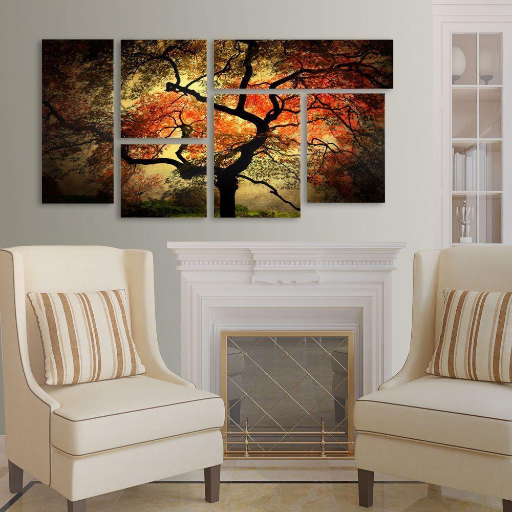 Trademark Fine Art Japanesephilippe Sainte Laudy 6 Panel Art With Japanese Wall Art Panels (View 10 of 20)