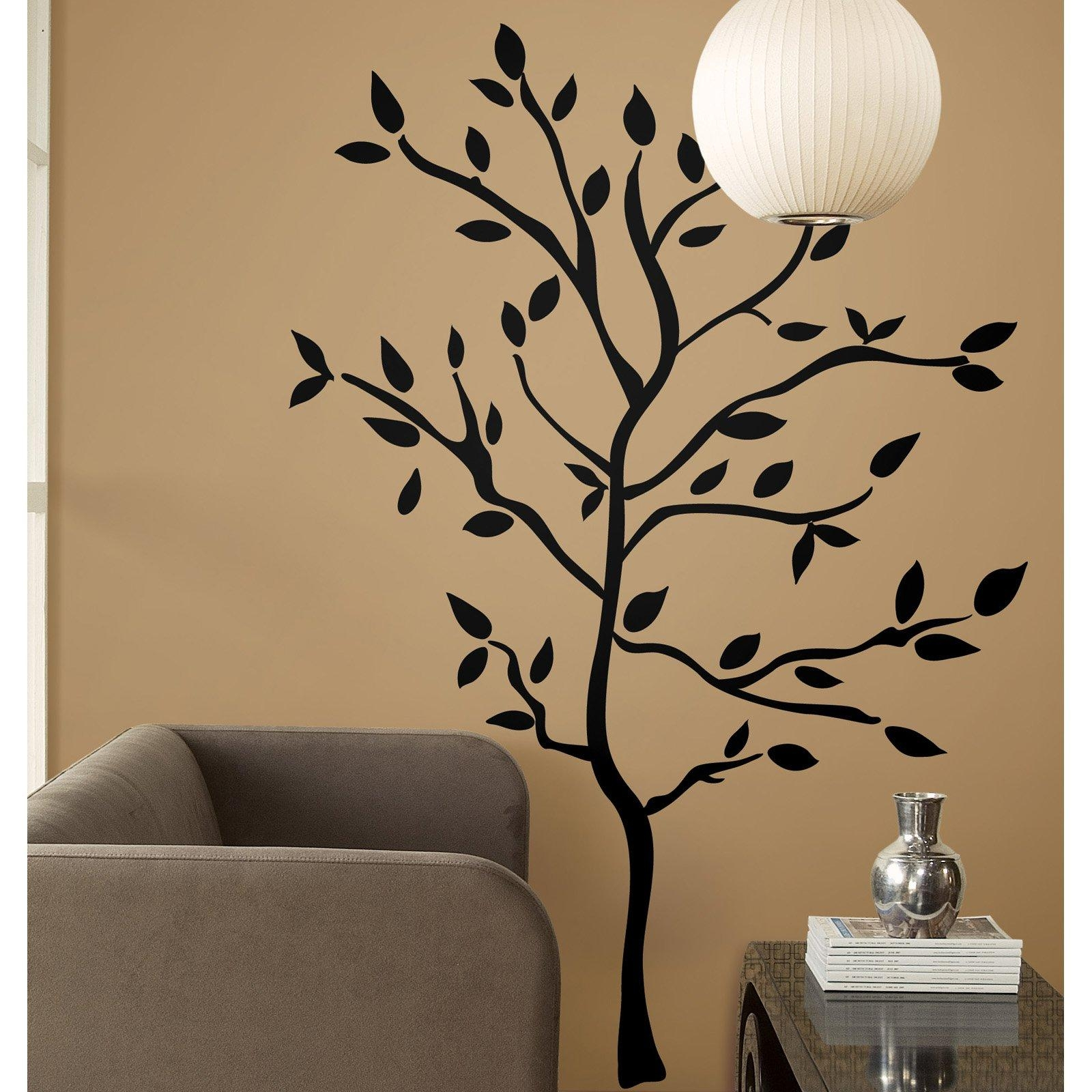 Tree Branches Peel And Stick Wall Decals – Walmart Intended For Walmart Wall Stickers (Image 18 of 20)
