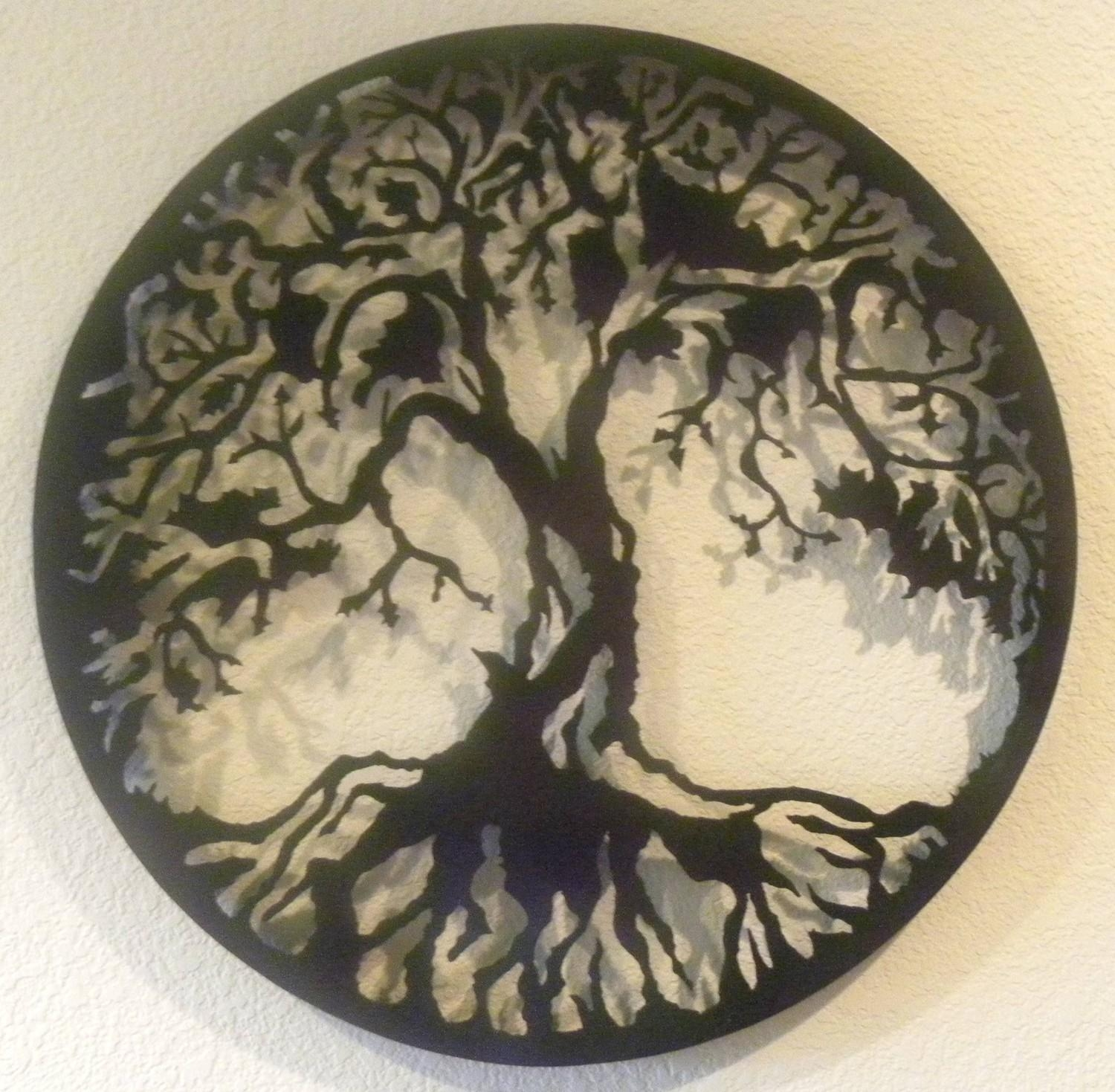 Tree Of Life Metal Wall Art Throughout Celtic Tree Of Life Wall Art (Image 14 of 20)