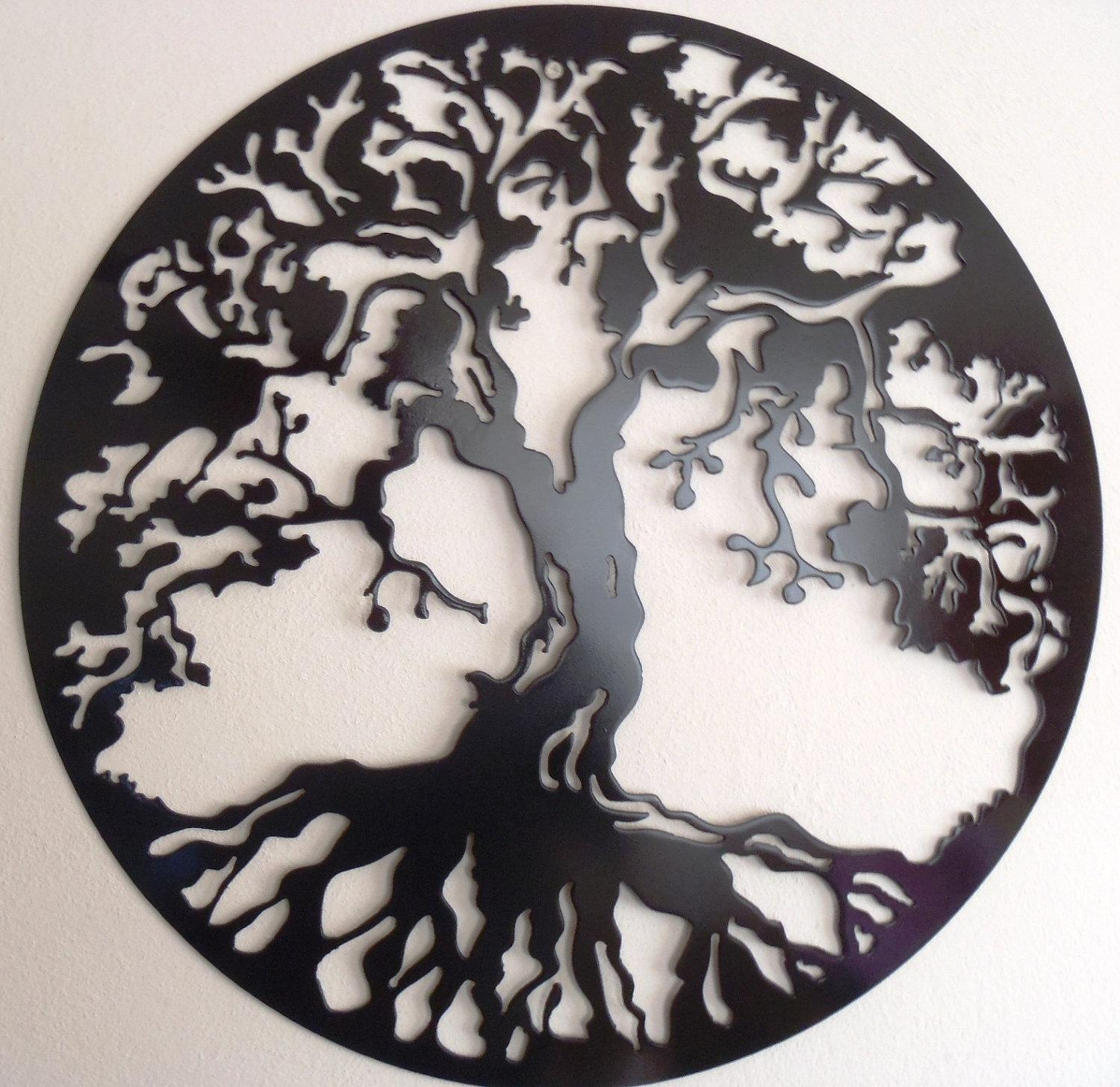 Tree Of Life Wall Art | Gardens And Landscapings Decoration In Celtic Tree Of Life Wall Art (View 18 of 20)