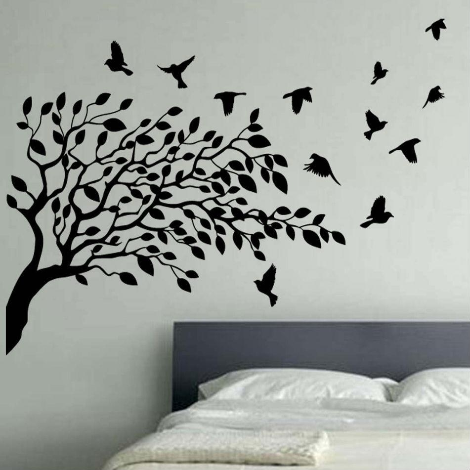 Tree Wall Art | Roselawnlutheran With Vinyl Wall Art Tree (View 2 of 20)