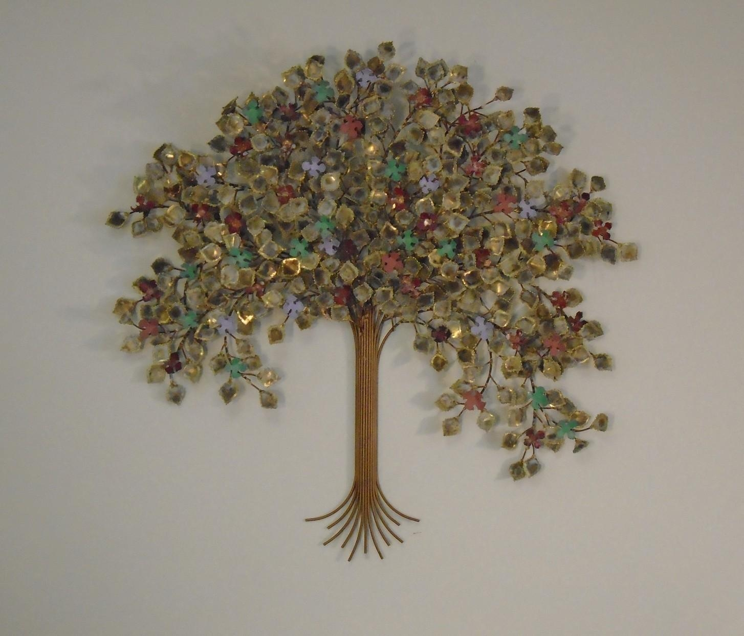 Trees – Wall Art – Metal Sculpture – Metal Decor Regarding Metal Tree Wall Art Sculpture (View 9 of 20)