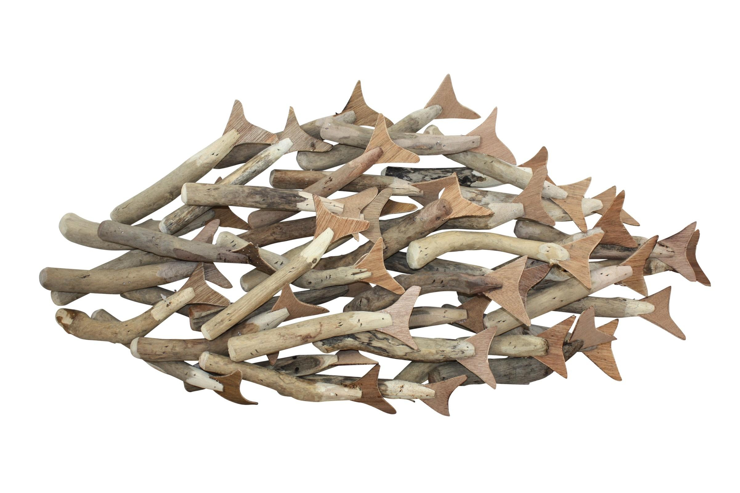 20 collection of stainless steel fish wall art wall art for Fish metal wall art