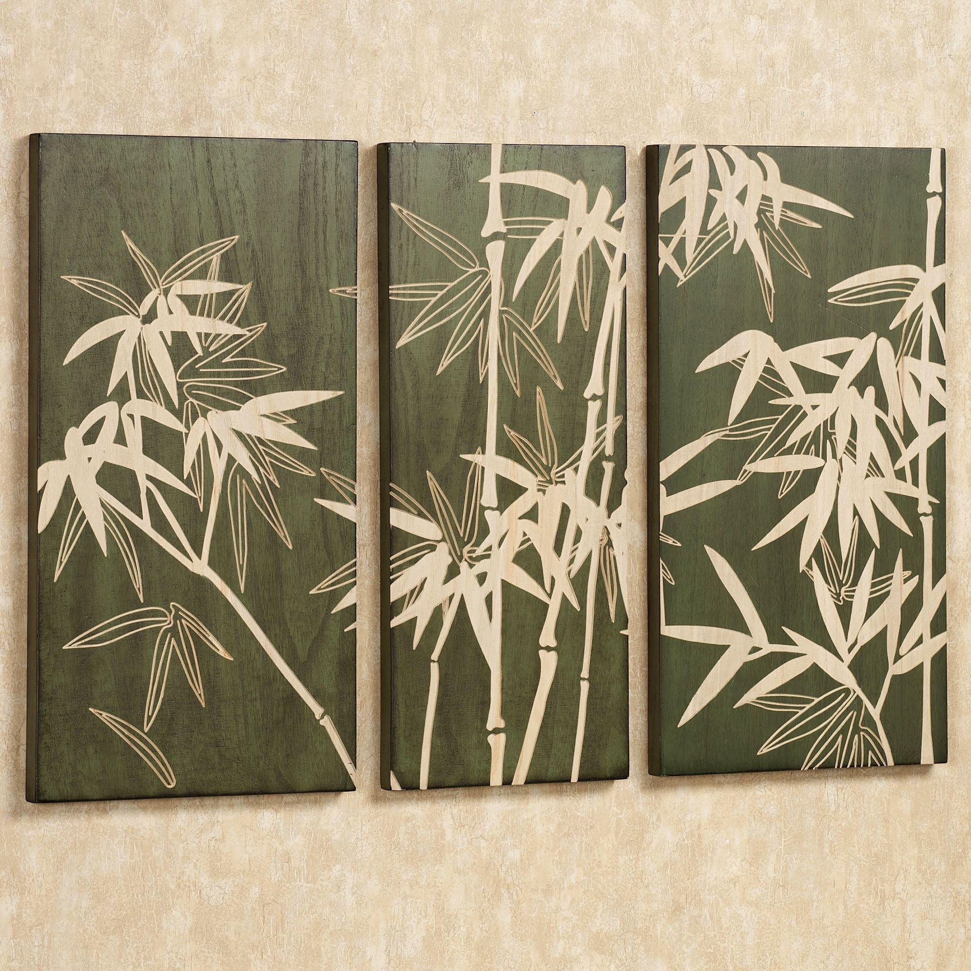 Tropical Wall Art | Touch Of Class Inside Bamboo Metal Wall Art (View 4 of 20)