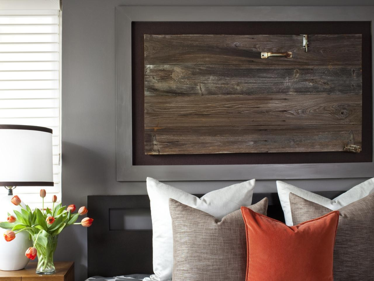 Turn An Architectural Item Into Art   Hgtv With Over The Bed Wall Art (View 16 of 20)