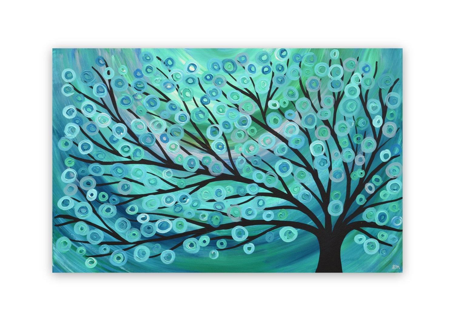 Turquoise Wall Art | Roselawnlutheran Throughout Orange And Turquoise Wall Art (View 10 of 20)