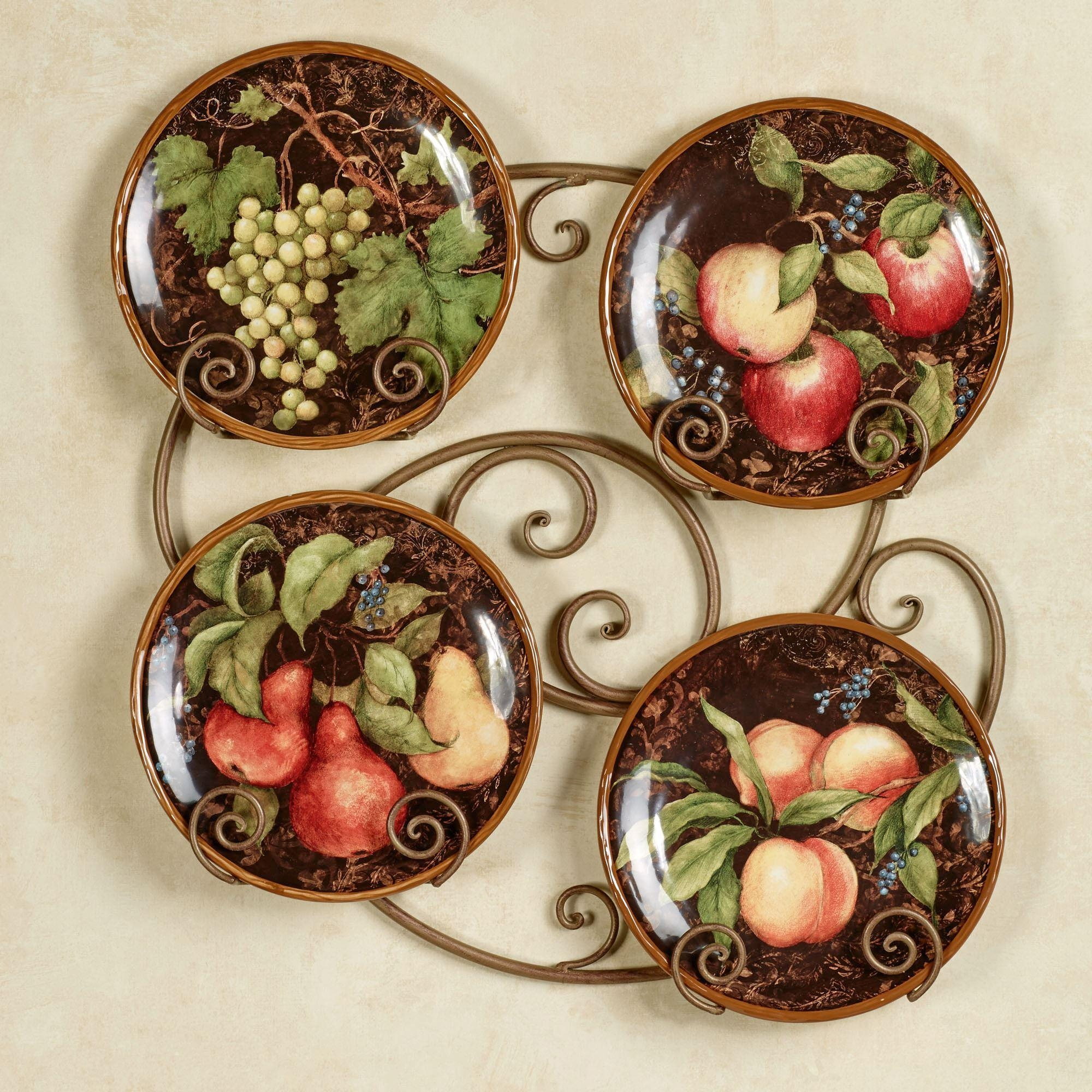 Tuscan And Italian Home Decor   Touch Of Class Within Italian Ceramic Wall Clock Decors (Image 15 of 20)