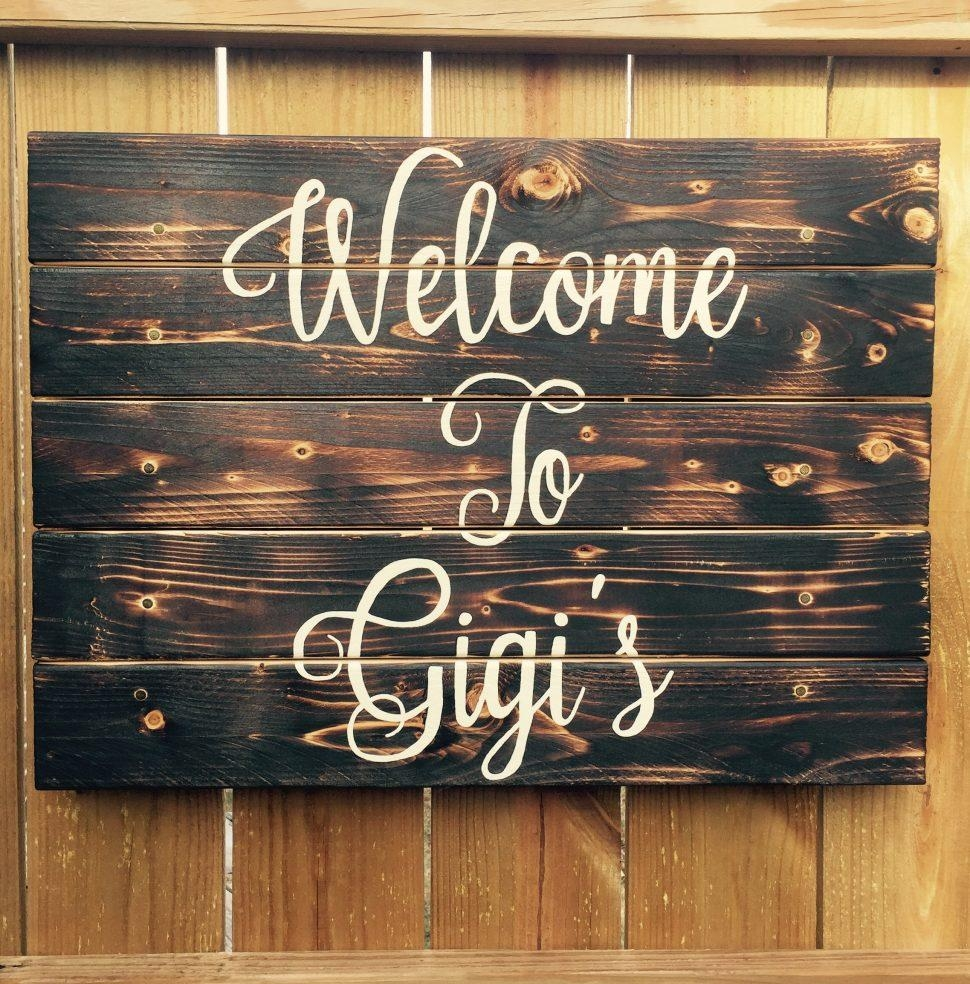 Uncategorized : Welcome Wood Signs Personalized Wooden Family Name With Regard To Inspirational Wall Plaques (View 7 of 20)