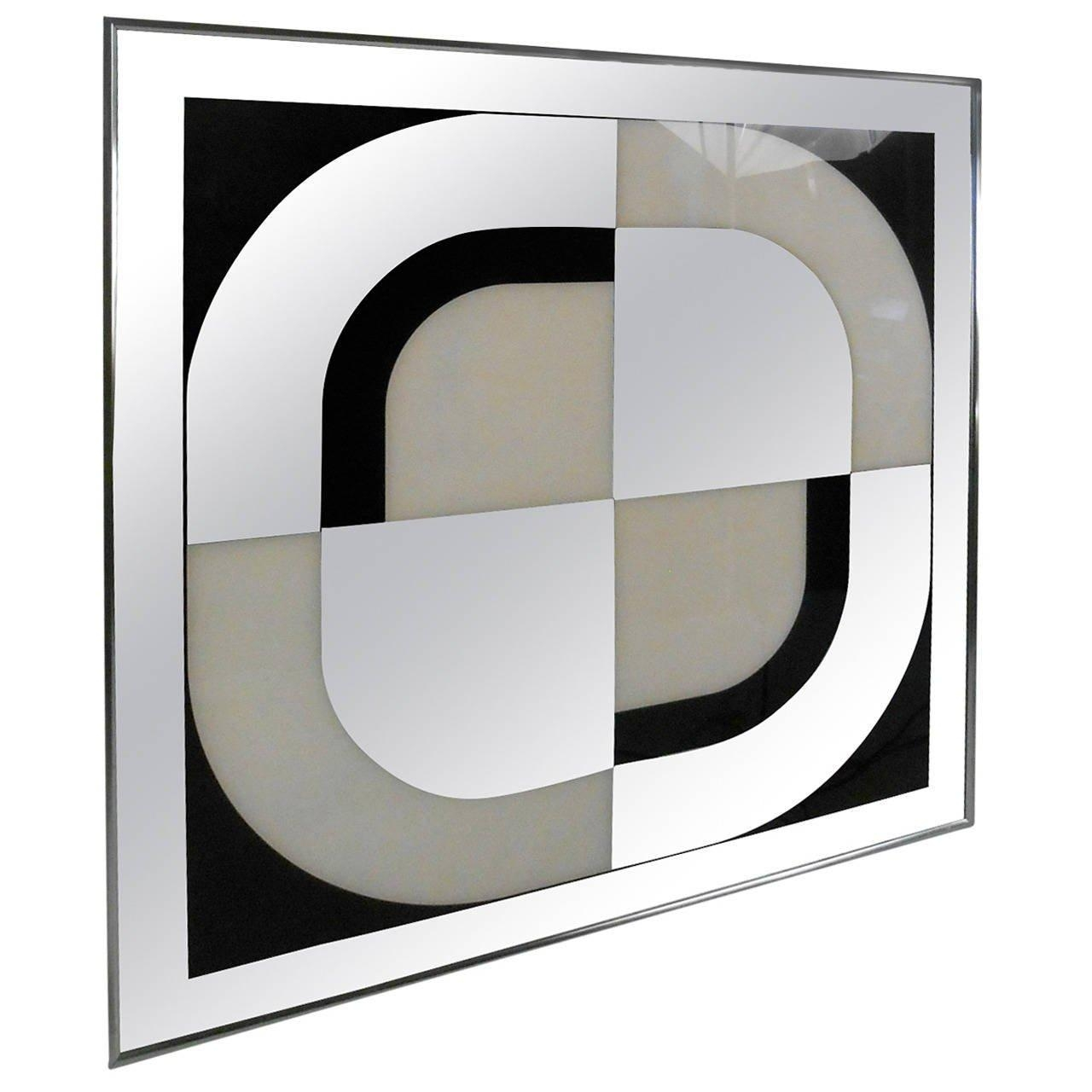 Unique Mid-Century Modern Mirrored Wall Artturner Design For inside Modern Mirrored Wall Art