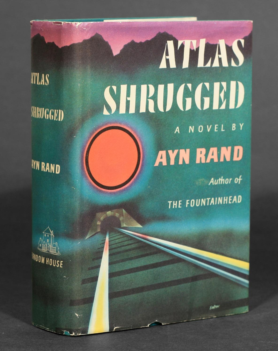 Ayn Rand Book Cover Art : Best ideas atlas shrugged cover art wall