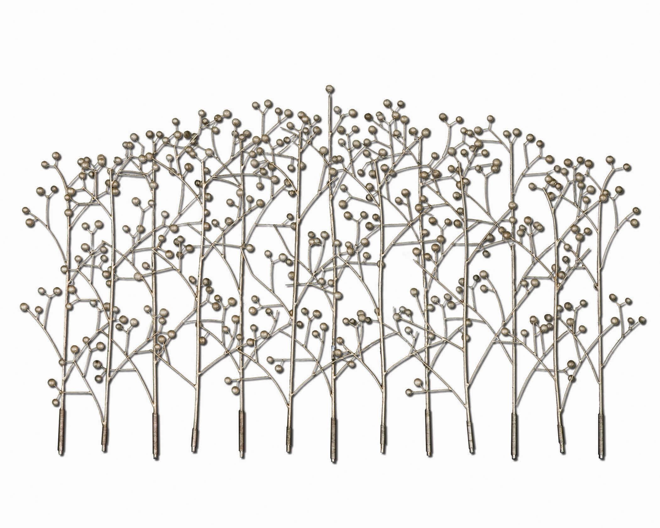 Uttermost Iron Trees Metal Wall Art 05018 for Wrought Iron Tree Wall Art