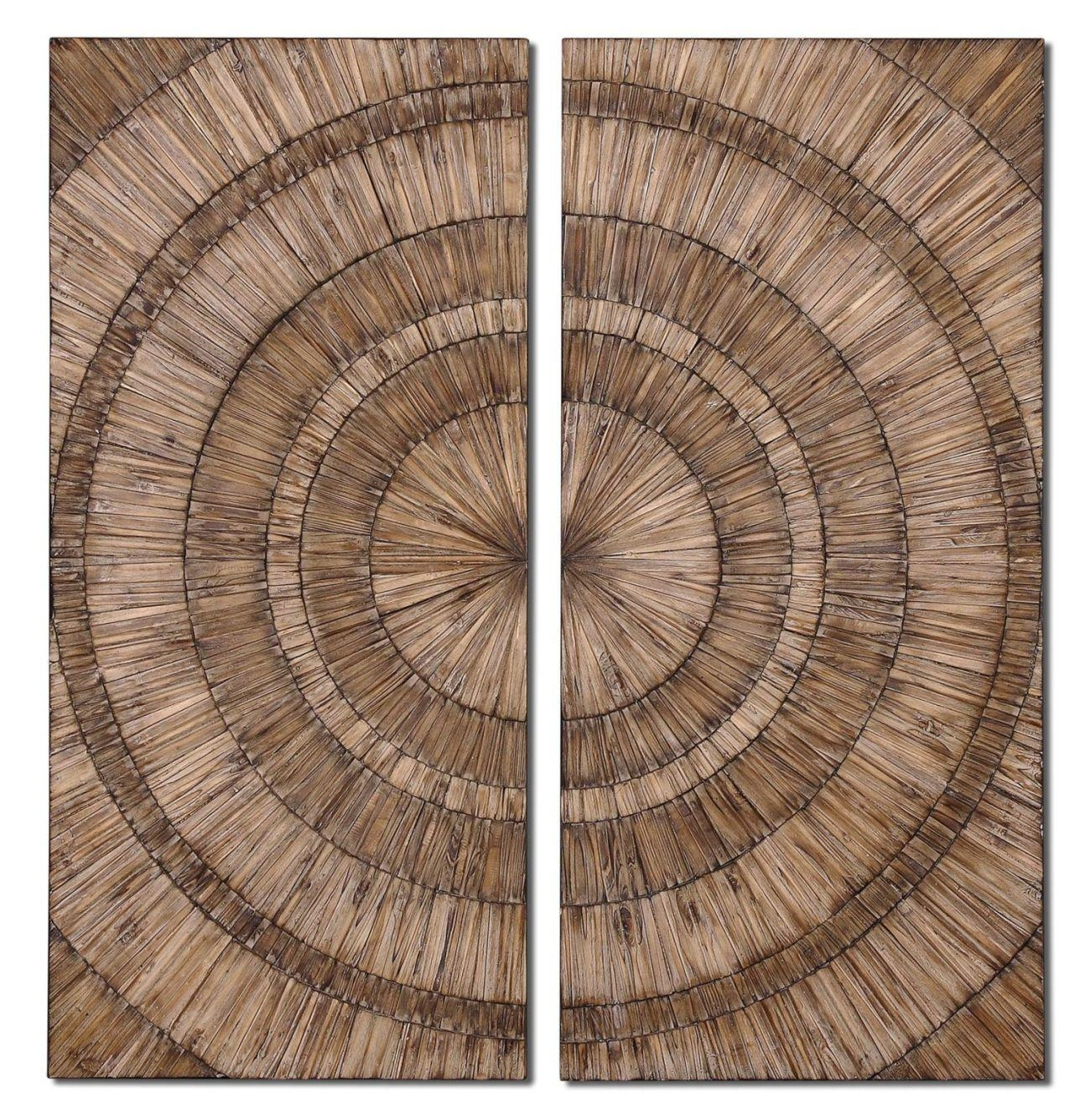 Uttermost Lanciano Wood Wall Art 07636 for Wood Wall Art Panels