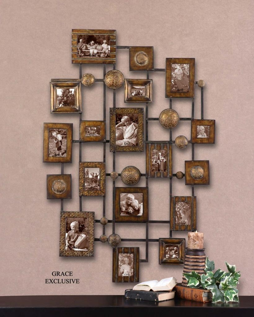 Uttermost Natane Decorative Metal Wall Art 13465 for Uttermost Metal Wall Art