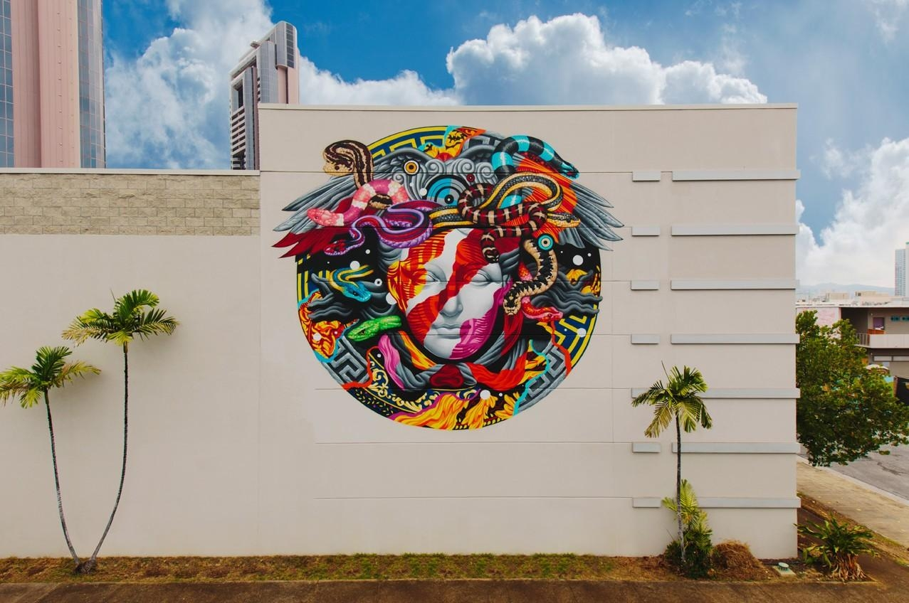 Versace Wall | Pow! Wow! Hawaiipow! Wow! Hawaii in Versace Wall Art