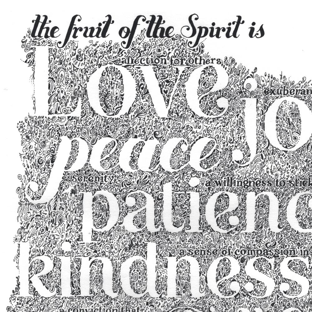 Verse Galatians 5:22-23 Fruits Of The Spirit throughout Fruit of the Spirit Artwork