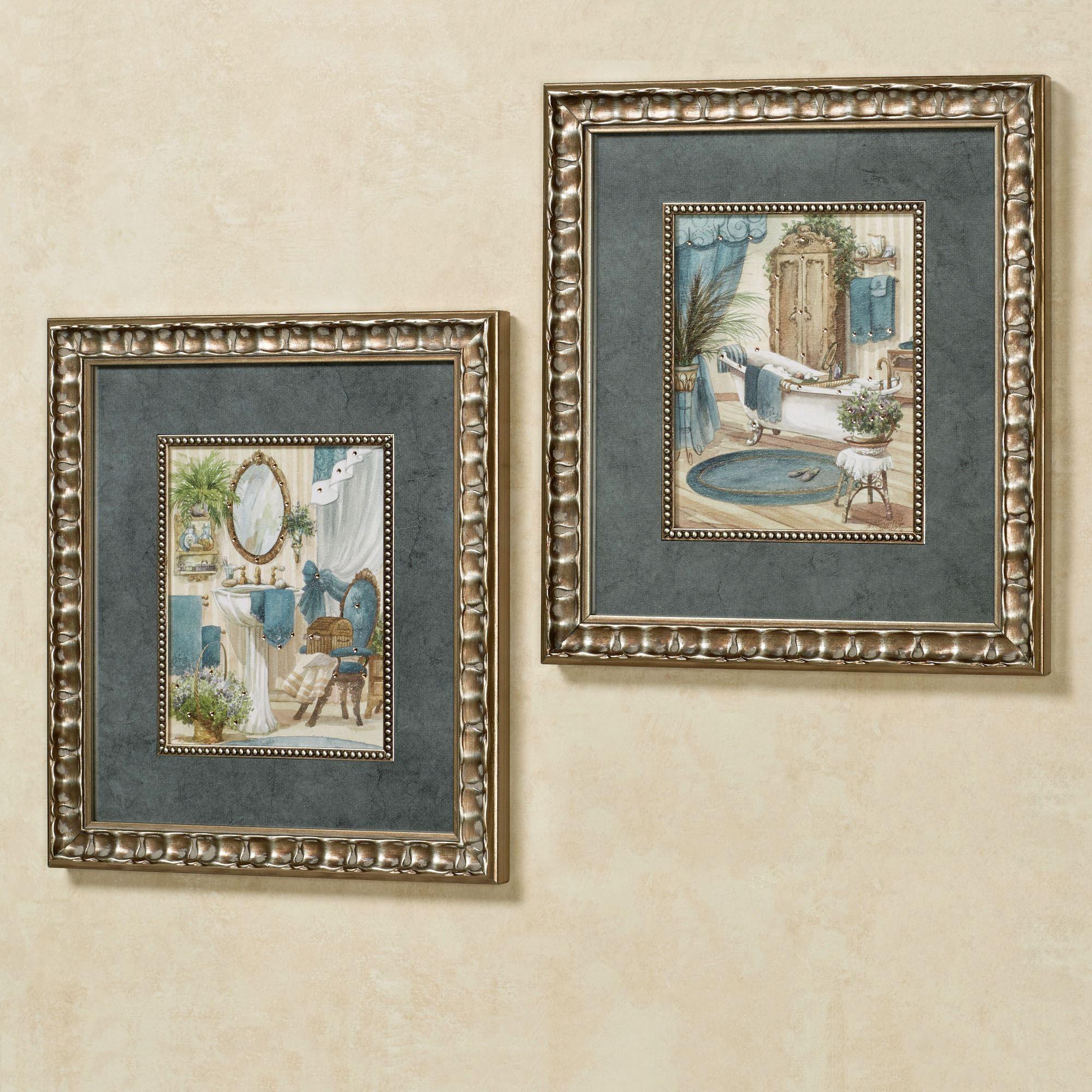 Victorian Bath Framed Wall Art Regarding Bath Wall Art (View 16 of 20)