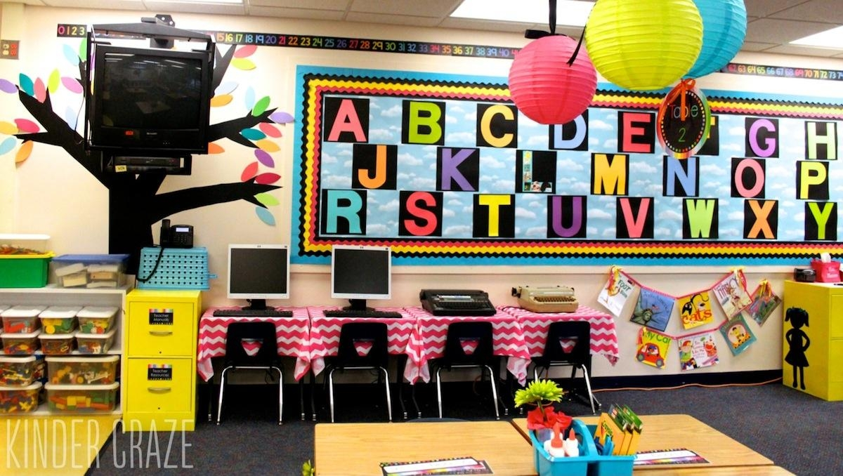 Video Tutorial: Decorative Vinyl Trees For The Classroom Pertaining To Classroom Vinyl Wall Art (Image 17 of 20)