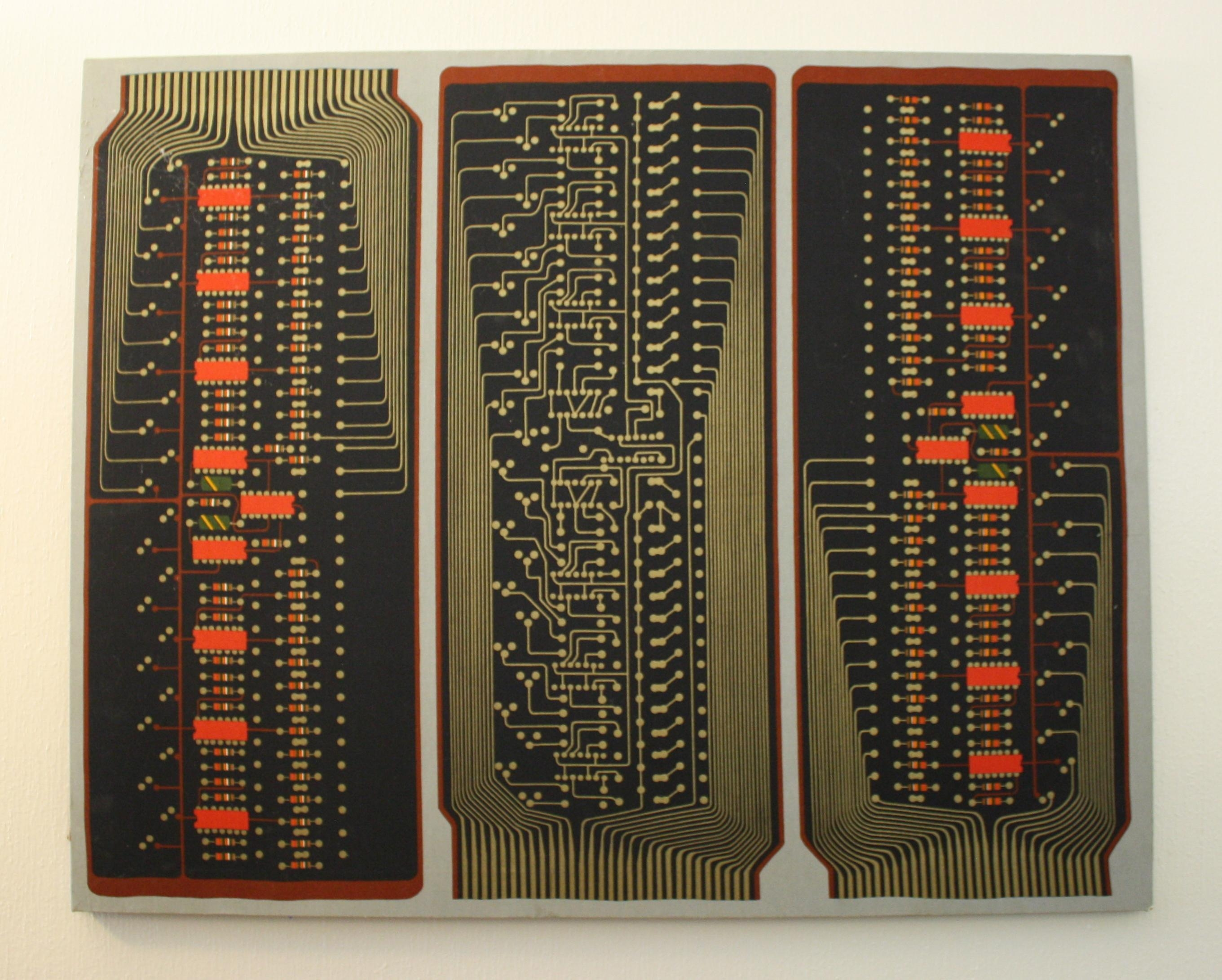 Vintage Retro Fabric Wall Art | Picked Vintage Within Electronic Wall Art (View 7 of 20)