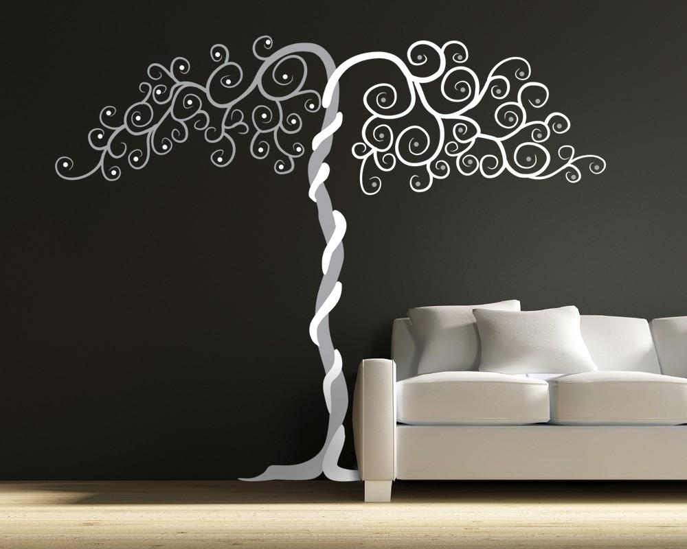 Vinyl Wall Art Tree Decal Tango With Regard To Vinyl Wall Art Tree (View 1 of 20)